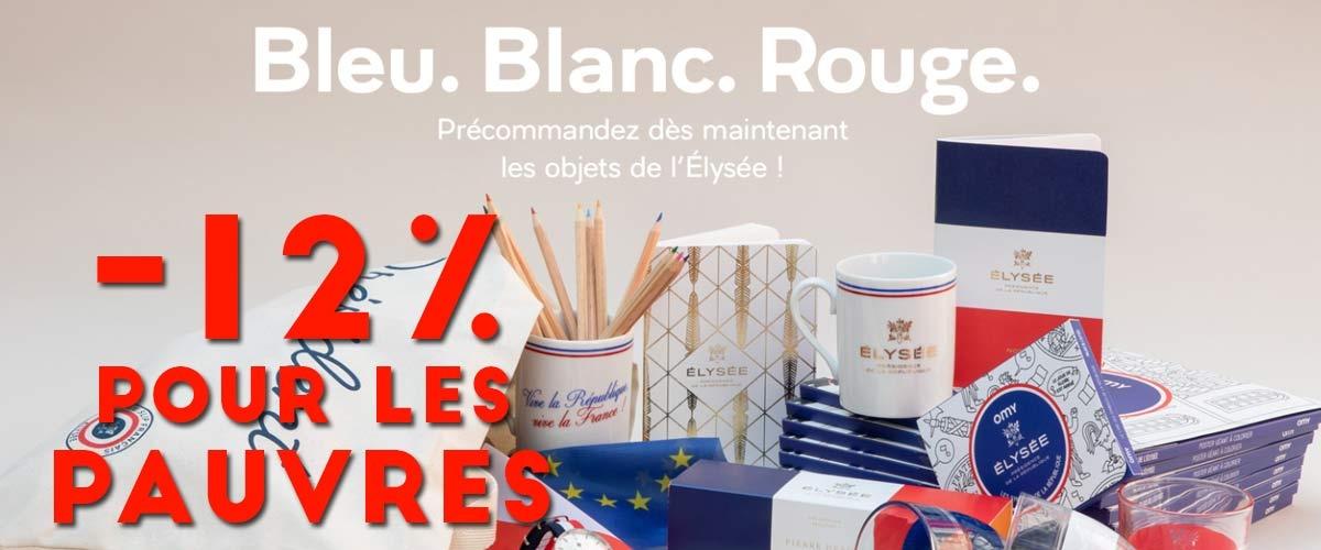 Plan Pauvreté : réduction de 12% sur la boutique de l'Élysée pour les allocataires de minima sociaux