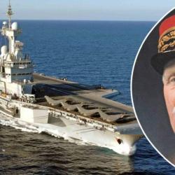 """Le futur porte-avions en construction de la Marine nationale sera baptisé """"Le Philippe Pétain"""""""
