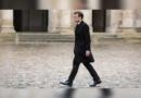 Par solidarité avec la marche pour le climat, Emmanuel Macron s'est promené 5 minutes dans la cour de l'Élysée