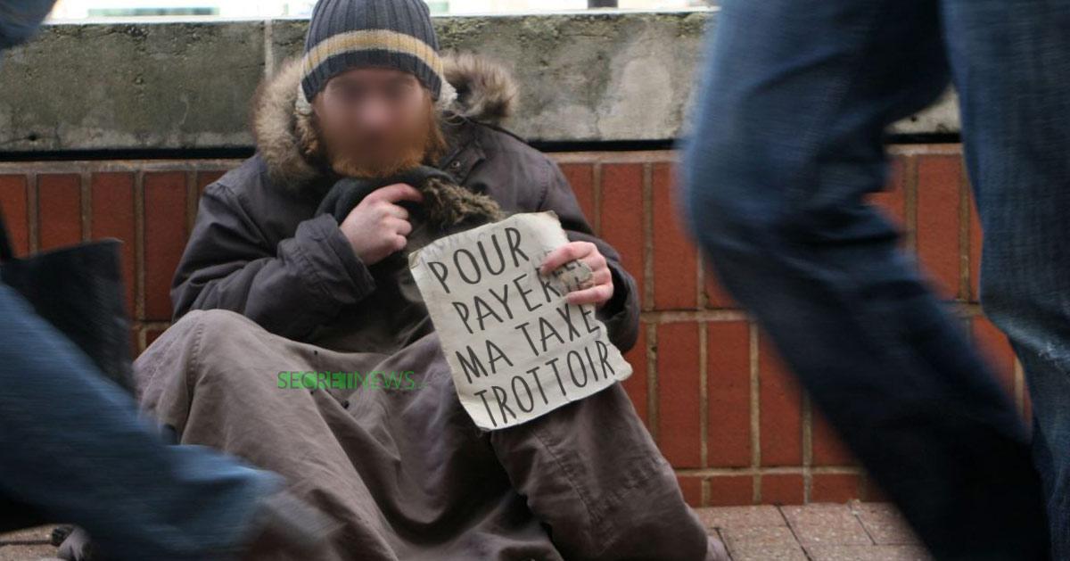 Les SDF parisiens devront bientôt s'acquitter d'une « contribution d'occupation du trottoir »
