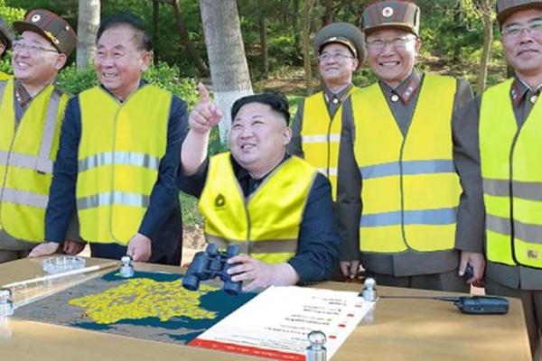 Kim Jong-un veut profiter des blocages du 17 novembre pour envahir la France