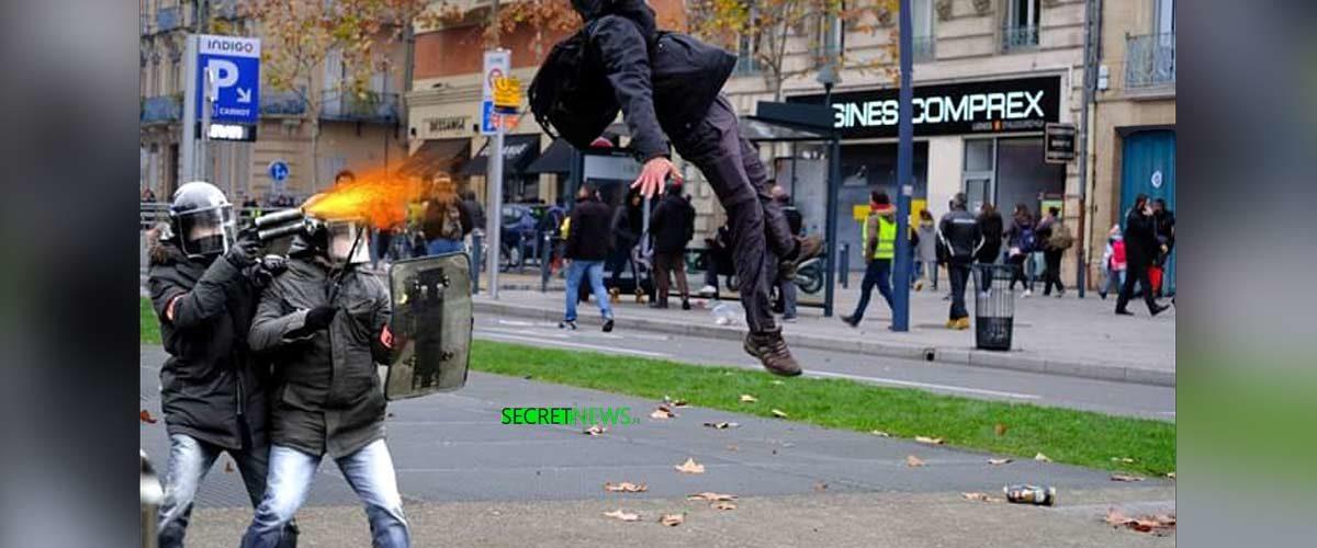 Les CRS ont utilisé de nouvelles armes incapacitantes pouvant paralyser les manifestants