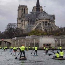 Acte 6 : les Gilets Jaunes contournent les blindés en passant par la Seine, les CRS sont débordés