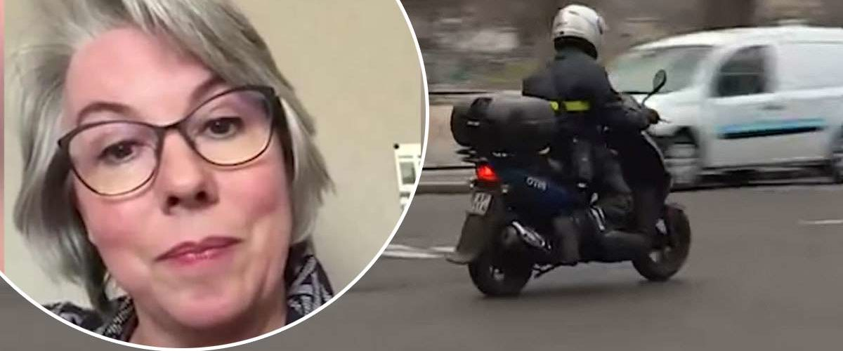 Emmanuel Macron aperçu en scooter devant le domicile de Jacline Mouraud