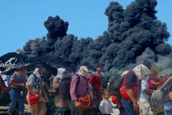 Éruption de l'Etna : la Syrie refuse d'accueillir les réfugiés italiens