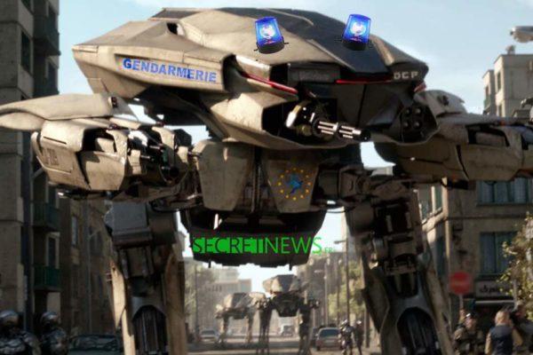 Acte 5 : la gendarmerie déploie des Robots-Tueurs-Autonomes contre les Gilets Jaunes
