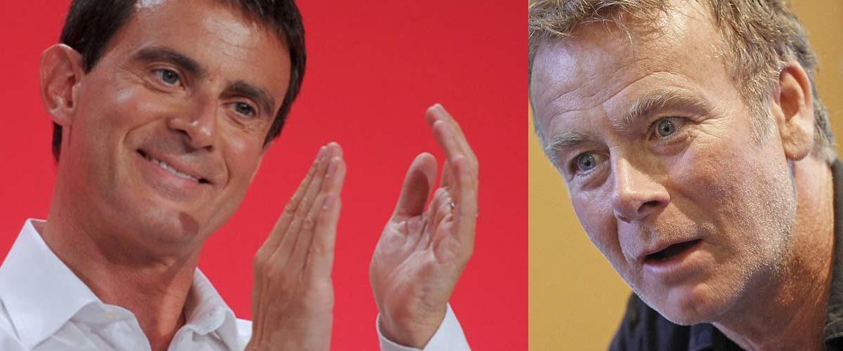 «On doit avoir le même tailleur» – Manuel Valls félicite Franck Dubosc pour son retournement-de-veste