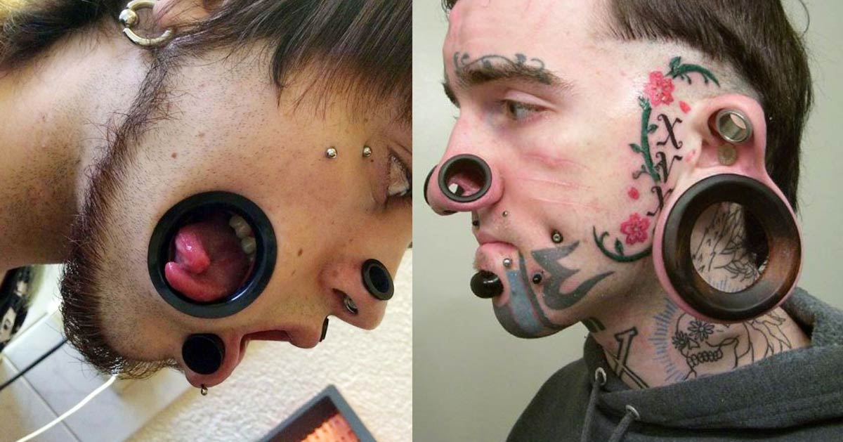 Flashball : un salon de piercing répare gratuitement les «gueules cassées»
