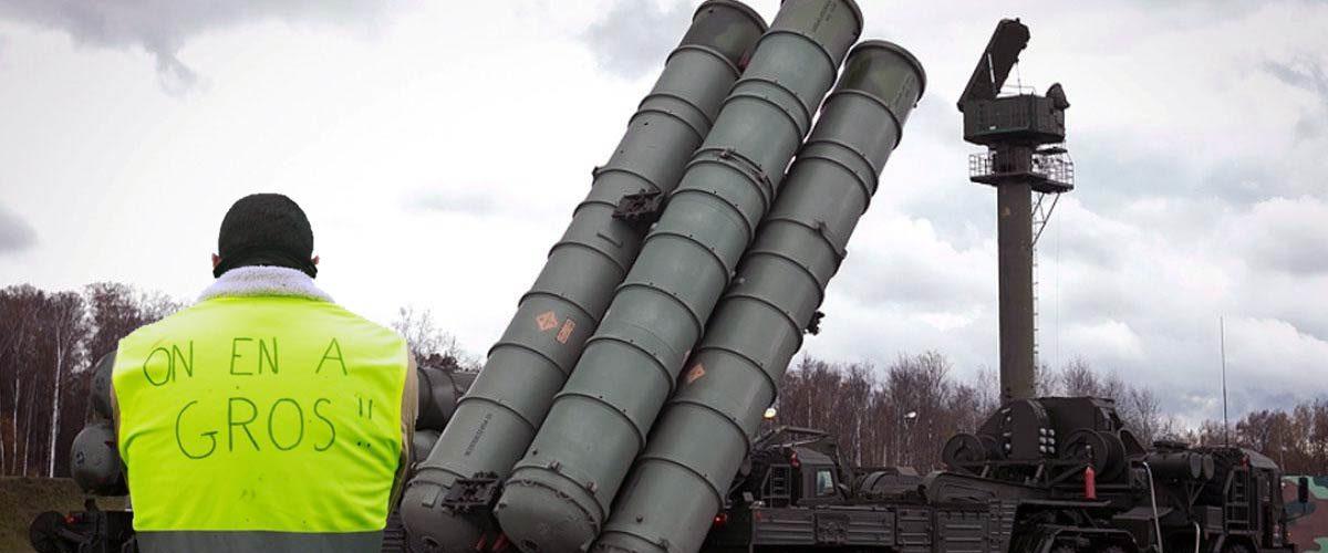 Crash du mirage 2000 : 50 Gilets Jaunes arrêtés en possession de missiles sol-air S300 russes