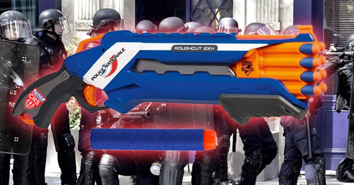 Violences policières : les CRS équipés de lance-fléchettes en mousse pour éviter les accidents de flashball