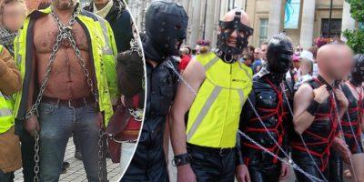 Violences policières : des gilets jaunes BDSM en première ligne des manifestations
