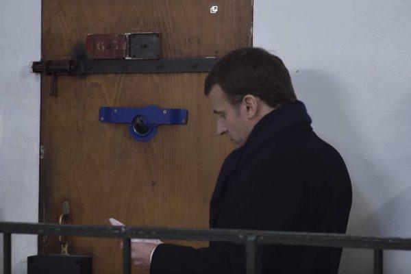 Emmanuel Macron a visité Alexandre Benalla en prison