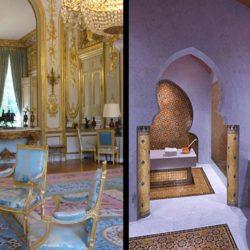 À l'Élysée, le Salon des Ambassadeurs transformé en hammam par Brigitte Macron