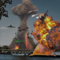 Les Rafales bombardent Paris