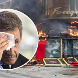 Le Fouquet's saccagé : Nicolas Sarkozy demande l'asile au Café de Flore