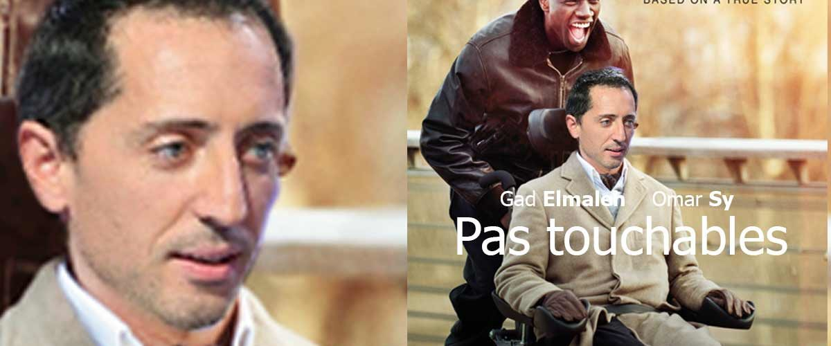 """Festival de Cannes : Gad Elmaleh présente """"Pas touchables"""", un regard neuf sur le handicap"""