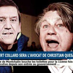Ivre, Gilbert Collard accepte de défendre Christian Quesada