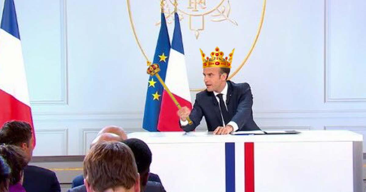 LREM change de nom et devient «Le Royaume d'Emmanuel Macron»