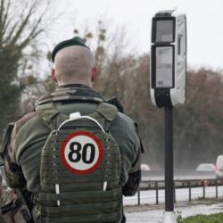 """Les nouveaux """"radars-tourelles"""" protégés par les militaires de Sentinelle"""